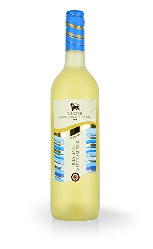 Württemberger Wein Riesling mit Traminer QW halbtrocken (1 x 0.75 l)