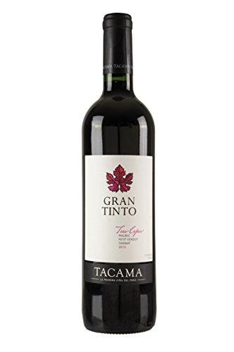 Vino Gran Tinto TACAMA, 13,5% vol., 750ml - Peruanischer Rotwein aus den...