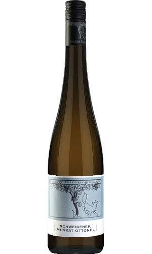 Friedrich Becker Schweigener Muskat Ottonel 2016 Weißwein lieblich 0,75 L