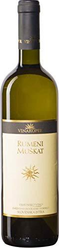 Vinakoper Gelber Muskateller - Rumeni Muškat 0,75 lt aus Istrien - EINWEG