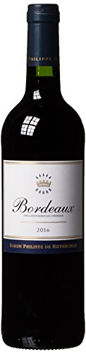 Baron Philippe de Rothschild Bordeaux AOC Rouge Merlot Trocken, (1 x 0.75...