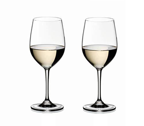 RIEDEL 6416/05 Vinum Viognier Chardonnay, 2-teiliges Weißweinglas Set,...
