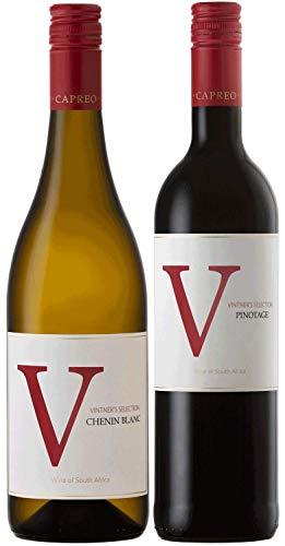 CAPREO Südafrikanische Klassiker Weinpaket   Chenin Blanc und Pinotage aus...
