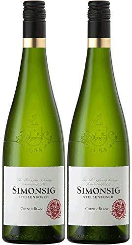 Simonsig Chenin Blanc 2019 Paket   Weißwein aus Südafrika (2 x 0.75l)  ...