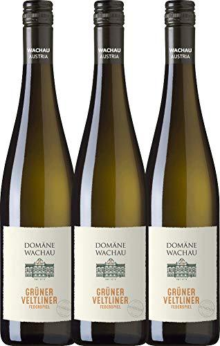 VINELLO 3er Weinpaket Weißwein - Grüner Veltliner Federspiel Terrassen...