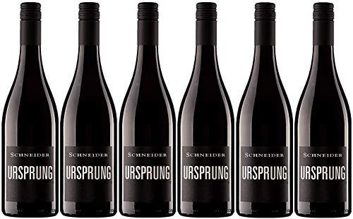 Markus Schneider Ursprung 2018 6er Paket | Rotwein aus Deutschland (6 x...