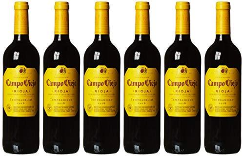 Campo Viejo Tempranillo Rotwein – Spanischer Rotwein mit Fruchtaromen,...