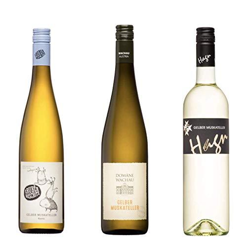 Gelber Muskateller Wein Weinpaket Österreich Probierpaket von Winzern aus...
