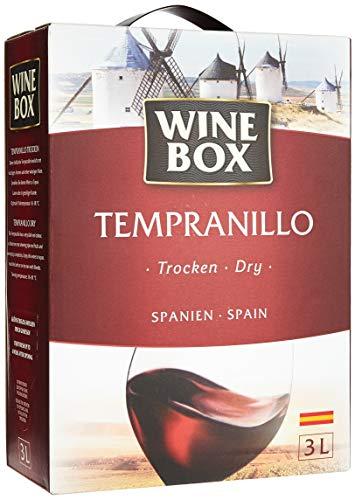 Wine Box Tempranillo Vino de la Tierra de Castilla trocken Bag-in-Box (1 x...