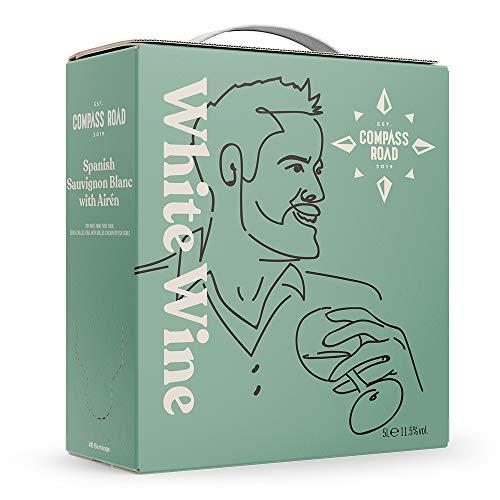 Amazon-Marke - Compass Road Weißwein Sauvignon Blanc mit Airén trocken,...