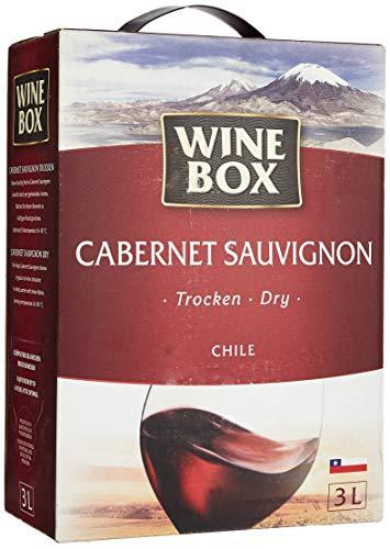 WineBox Cabernet Sauvignon Chile trocken Bag-in-Box (1 x 3 l)