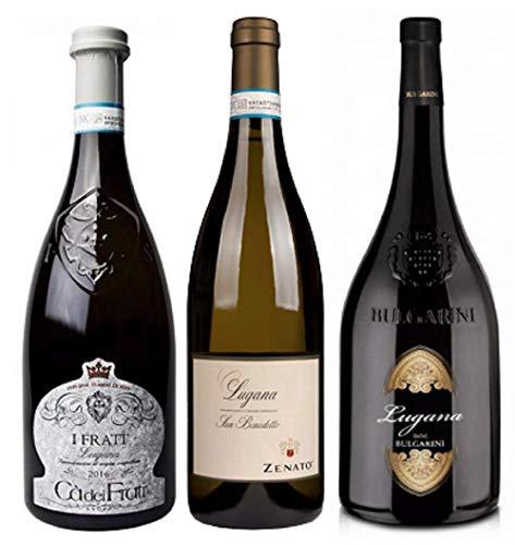 Lugana Probierpaket   Weißwein aus Italien   Venetien   3 x 0,75l