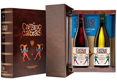 CAMINO DE CABRAS Weinkoffer – Gourmetprodukt – Weißwein - Godello D.O....