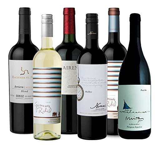 Atlantik Weine, Südamerika Weinpaket Taste of Argentina mit Rotwein und...