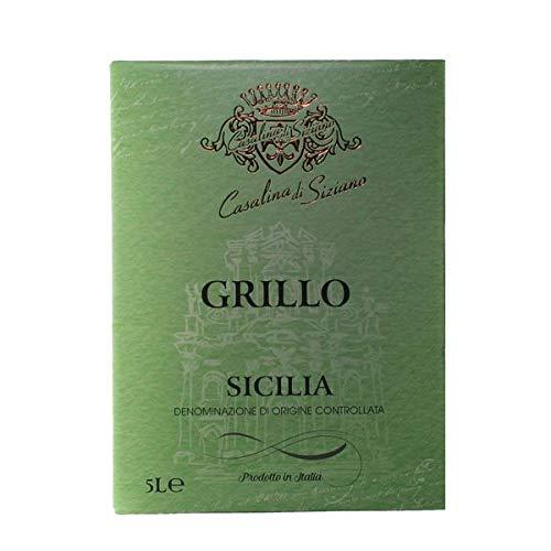 Weißwein Italien Grillo Siciliane Bag-in Box trocken (1x5L)