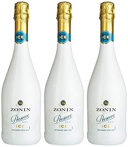 Zonin Prosecco Spumante Ice Glera Halbtrocken (3 x 0.75 l)