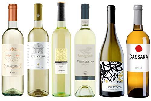 Wein-Probierpaket Weißweinreise durch Italien (6 x 0,75 l)...