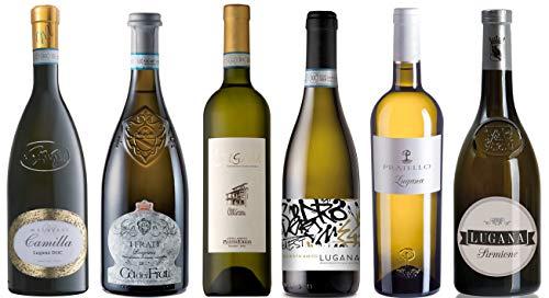 Probierpaket Sommerklassiker Lugana | Weinpaket mit italienischem Weißwein...