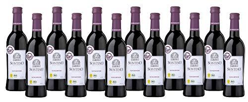 Sontino BioVegan Sangiovese Halbtrocken – Fruchtiger Rotwein aus Italien...