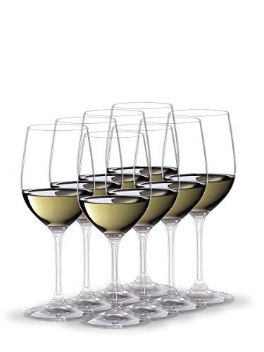 RIEDEL Weißweinglas-Set, Vorteilsset, 8-teilig, für Weißweine wie...