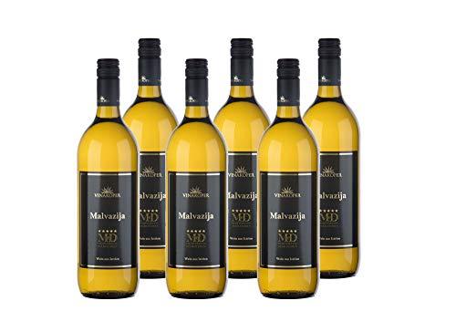 Vinakoper Weine Weinpaket Malvasia Slowenischer Wein - Malvazija Weisswein...