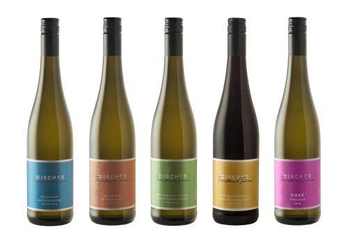 WEIN WISCHER Probierpaket QUALITÄTSWEINE Cuvées Weinpaket (5 x 0,75l)...