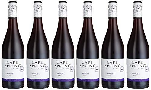 Cape Spring Pinotage Rouge Afrika (6 x 0.75 l)