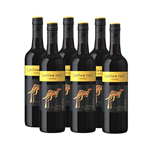 Yellow Tail Shiraz – Halbtrockener, aromatischer Rotwein aus Australien...