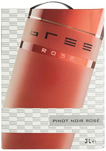 Bree Pinot Noir Rosé Qualitätswein feinherb aus Deutschland, Bag-in-Box...