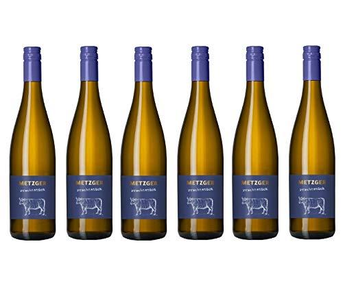 Metzger Prachtstück Cuvée Weißwein Wein QbA Riesling Scheurebe feinherb...