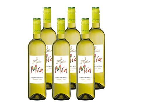 Freixenet Mia Blanco Wein, Halbtrocken, 11,5% Alkohol (6 x 0,75 l Flaschen)...