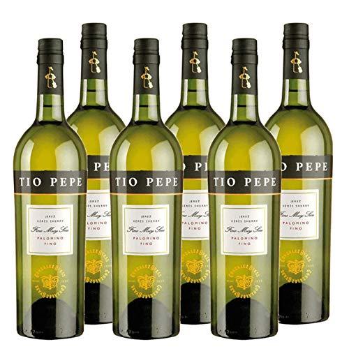 Großzügiger Wein Tio Pepe Palomino Fino 75 cl - D.O. Jerez - Bodegas...