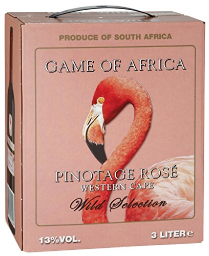 Game of Africa - Wild Selection Pinotage Rosé Wein 13% Vol. - 3l...