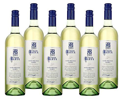 6 Flaschen Allée Bleue DER WEISSWEIN ZUM LACHS Souvignon Blanc Chenin Wein...