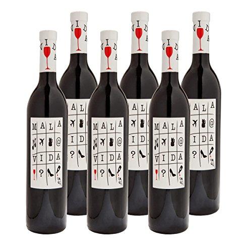 MALA VIDA Vino Tinto Weinpaket   Rotwein D.O. Valenica   Bodegas Arráez  ...
