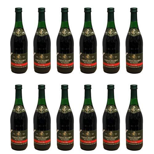 ENOVITE Lambrusco Frizzante IGT - 12er Pack (12 x 0,75L)