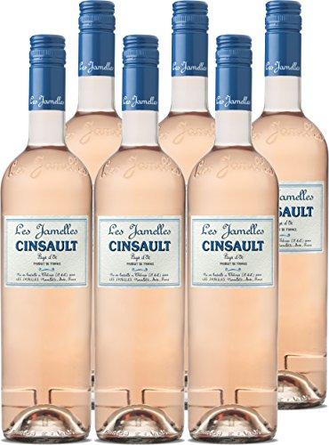 Cinsault - Les Jamelles - rosé - trocken - 6 Fl.