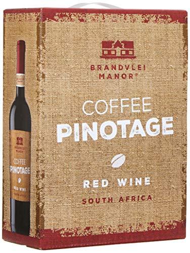 Brandvlei Manor Coffee Pinotage W.O. Western Cape Bag-in-Box (1 x 3 l)